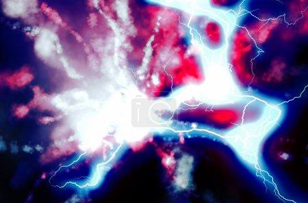 Photo pour Nouvelle découverte de particules au laboratoire - image libre de droit