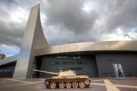 Impeial War Museum at Salford Quays, Manchester, UK