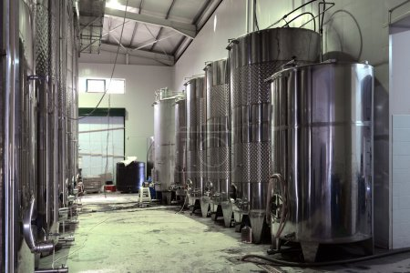 Stainless steel wine