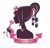 Portrait of a beautiful princess