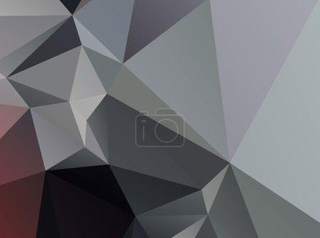 Grey black Geometric background vector eps 10