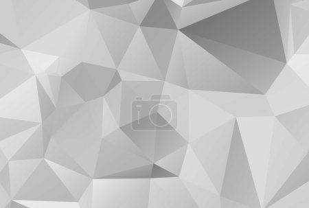 Light Grey Geometric background vector eps 10