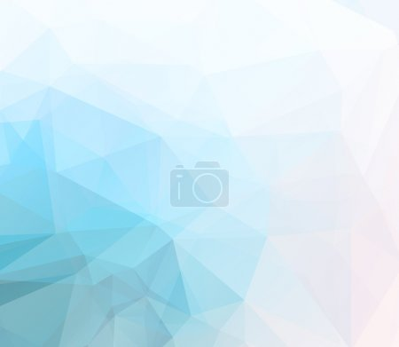 Vector soft pastel geometric background with gradi...