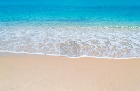 Turquoise foreshore