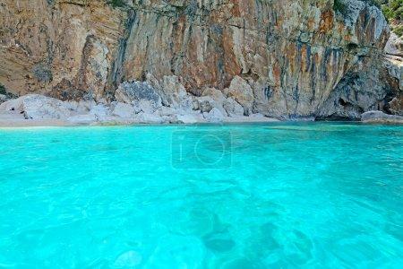 Cala Mariolu water
