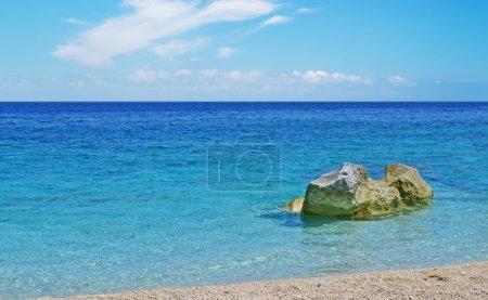 rocks in Cala Mariolu