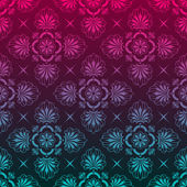 Stylish background made of floral pattern
