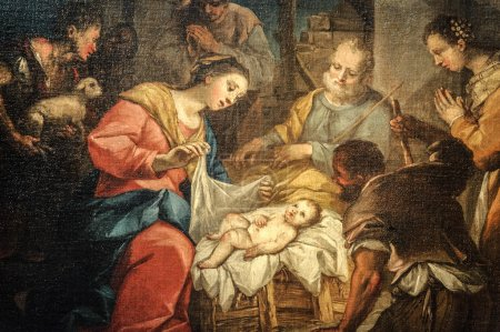Santa Maria delle Grazie (Milan): Nativity, painting