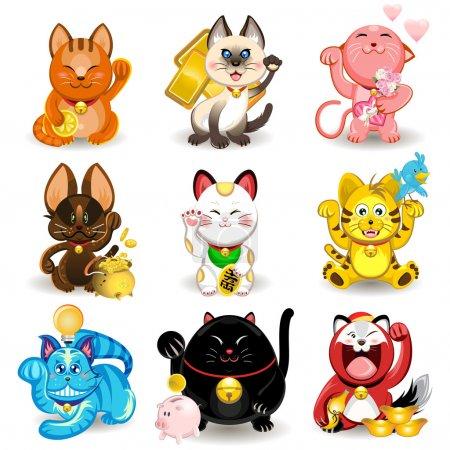 Maneki Neko Fortune Cat Collection