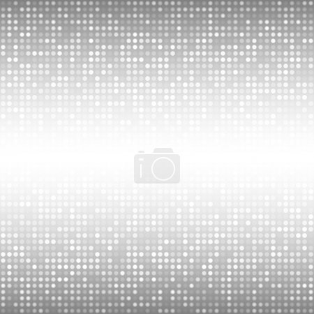 Illustration for Abstract Gray Technology Background - Royalty Free Image