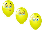 Cartoon Lemon Fruit Set 1