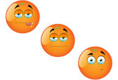 Cartoon Orange Fruit Set 1