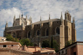 Medieval church in the old town of Toledo, Spain