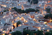 Old town of Toledo at night. Castilla-La Mancha, Spain