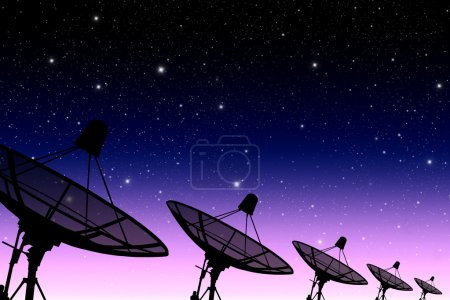 satellite disc