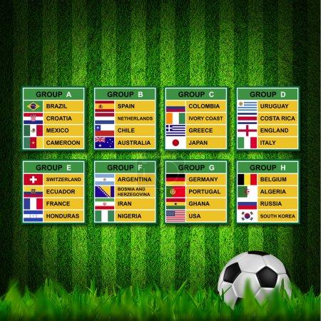Brazil cup 2014, Soccer Tournament.