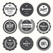 Set of retro vintage badges and labelseps10