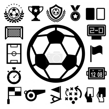 Soccer Icons set.