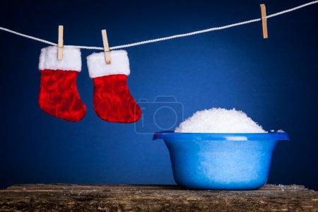 Laundry Christmas servise