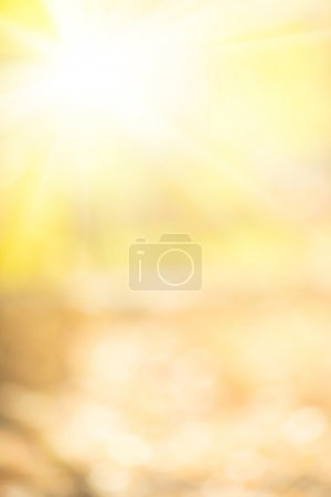Autumn yellow background