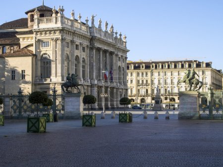 It is in the downtown of Turin...