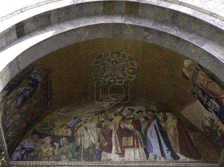Basilica San Marco facade particular