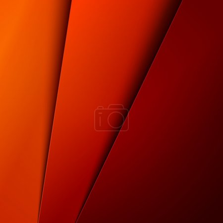 Abstract background with red and orange layers