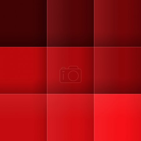 Abstract red squares background