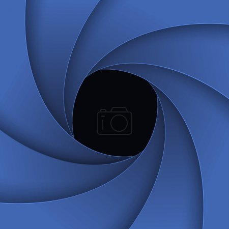 Photo for Swirly grey paper background. - Royalty Free Image