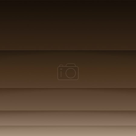 Abstract background with brown paper layers