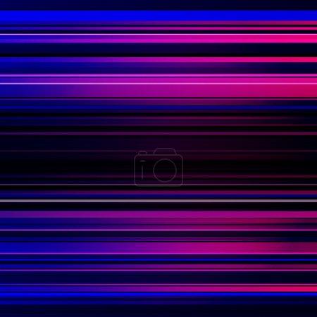 Photo pour Abstrait bleu et violet rayé. - image libre de droit