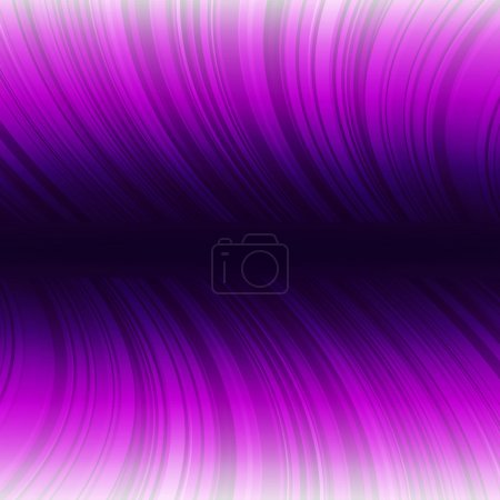 Abstract warped purple stripes colorful background