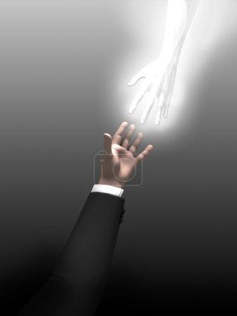 Photo pour Concept d'aide - image libre de droit