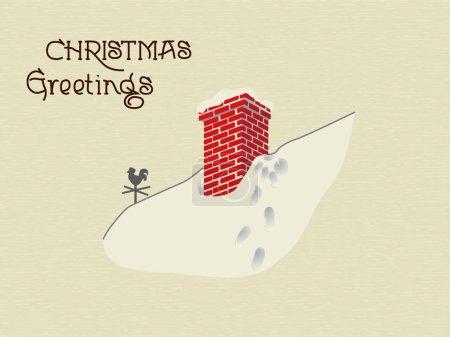 Photo pour Noël salutations fond - image libre de droit