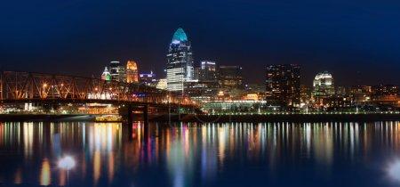 Downtown Cincinnati...