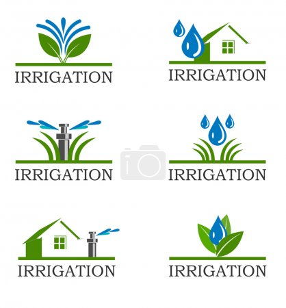 Irrigation icons