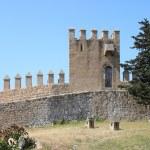 Battlements of Arta Fortress. Mallorca, Spain...