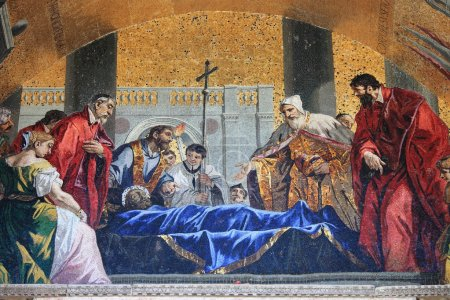 St. Mark venerated by the venetians
