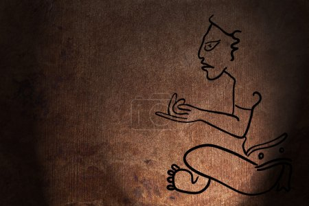 Maya Image of the Deity