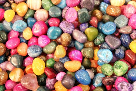 Photo pour Pierres colorées, macro - image libre de droit