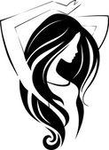 Mädchen-Symbol