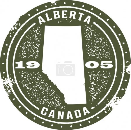 Alberta Canada Stamp