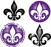 Grunge Fleur De Lis Collection