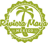 Riviera Maya Mexico Vacation Stamp