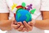 život na Zemi - životní prostředí a ekologie koncept