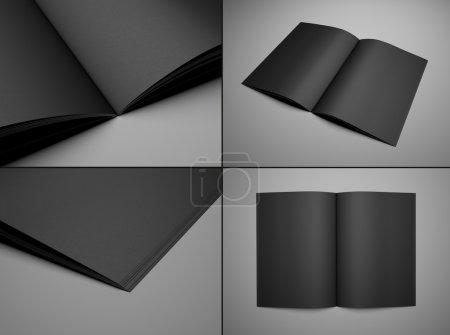 Set black booklet