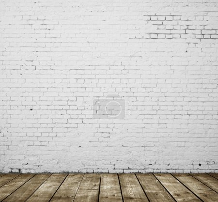 Photo for High resolution gray brick concrete room - Royalty Free Image