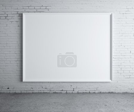 Blank poster
