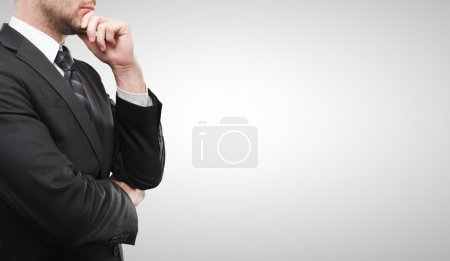 Photo for Businessman on a white background - Royalty Free Image