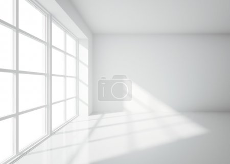 Light white room